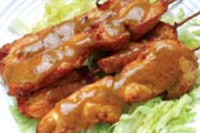 Satay Chicken on Skewer (4)